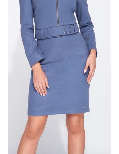 Dopasowana elegancka spódnica midi